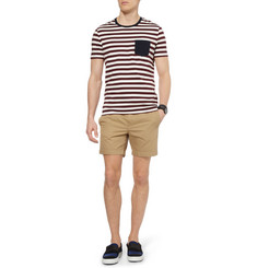 Acne Seymour Slim-Fit Cotton-Twill Shorts