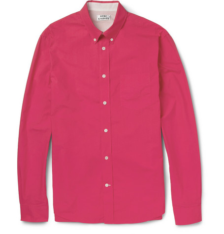 Acne Studios Isherwood Button-Down Cotton Shirt
