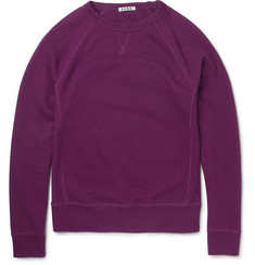 Acne College Loopback-Cotton Sweatshirt