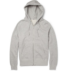 Acne College Loopback Cotton Hoodie