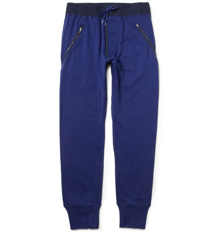 Acne John Cotton-Jersey Sweatpants