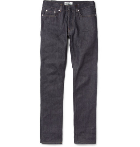 Acne Roc New Regular-Fit Dry Denim Jeans