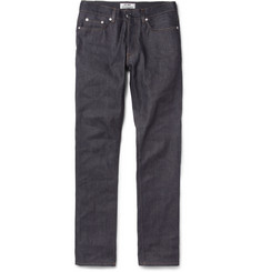 Acne Roc New Slim-Fit Dry Denim Jeans