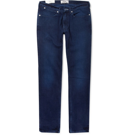 Acne Max Slim-Fit Overdyed Denim Jeans