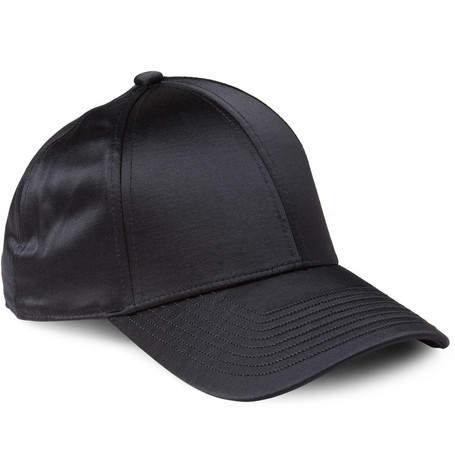 Acne Studios Camp Satin Baseball Cap