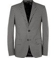 Alexander McQueen - Slim-Fit Printed Cotton Blazer