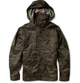 Aspesi - Digital Camouflage-Print Waterproof Jacket