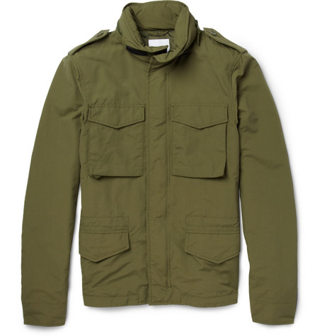 Aspesi Hooded Lightweight Field Jacket
