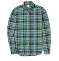 Aspesi - Slim-Fit Check Cotton Shirt
