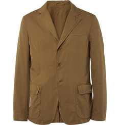 Aspesi Unstructured Cotton-Twill Blazer
