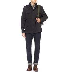 Aspesi Hooded Cotton Field Jacket
