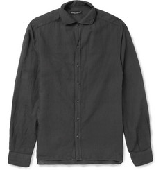 Dolce & Gabbana Cotton and Linen-Blend Shirt