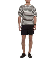 Dolce & Gabbana Striped Linen-Blend T-shirt