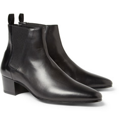 Saint Laurent Leather Chelsea Boots