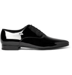 Saint Laurent Patent-Leather Oxford Shoes