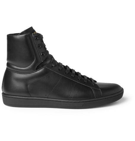 Saint Laurent Sl01h Leather High Top