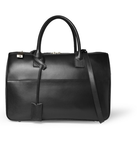 Saint Laurent Leather Holdall Bag