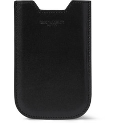 Saint Laurent Leather iPhone 4 Cover