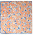 Faconnable - Floral-Print Linen Pocket Square
