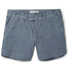 Orlebar Brown Scotty Slim-Fit Tailored Denim Shorts