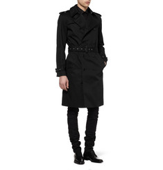Saint Laurent Twill Trench Coat