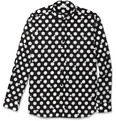 Saint Laurent - Slim-Fit Polka-Dot Cotton Shirt