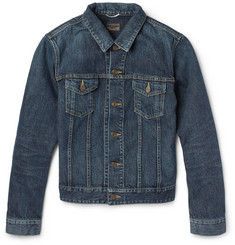 Saint Laurent Slim Fit Denim Jacket