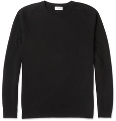 Saint Laurent Slim-Fit Crew Neck Cashmere Sweater