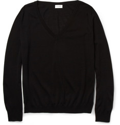 Saint Laurent V-Neck Wool Sweater