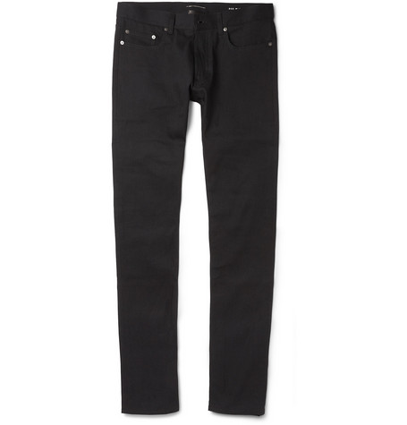 Saint Laurent Slim-Fit 16cm Hem Jeans