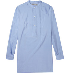 Etro Bib-Front Cotton and Silk-Blend Shirt