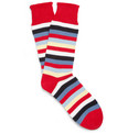Corgi - Striped Knitted Cotton Socks