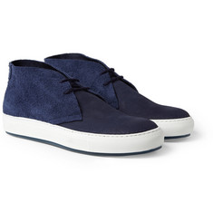 Acne Anton Suede and Leather Desert Boots