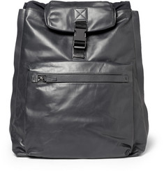 Lanvin Leather and Twill Backpack and Tote
