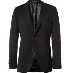 Lanvin Black Slim-Fit Unstructured Suit Jacket