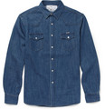 Maison Kitsuné - Slim-Fit Denim Shirt