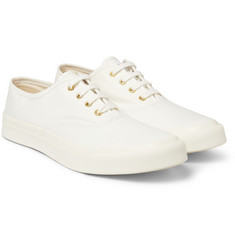 Maison Kitsuné Rubber-Soled Canvas Sneakers