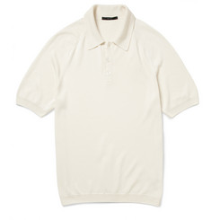 Gucci Knitted Silk Polo Shirt