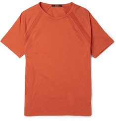 Gucci Contrast-Trim Cotton-Jersey T-Shirt