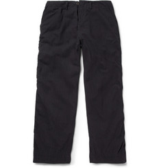 Kolor Navy Cotton-Blend Suit Trousers