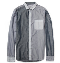 Kolor Panelled Fine-Cotton Shirt