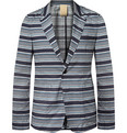 Wooyoungmi Navy Unstructured Cotton Suit Jacket