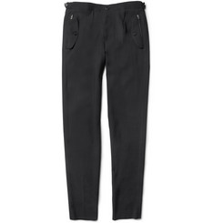 Wooyoungmi Tapered Wool-Crepe Trousers