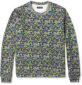 Raf Simons - Printed Loopback Cotton-Blend Sweatshirt