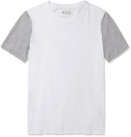Maison Martin Margiela Cotton Crew Neck T-Shirt