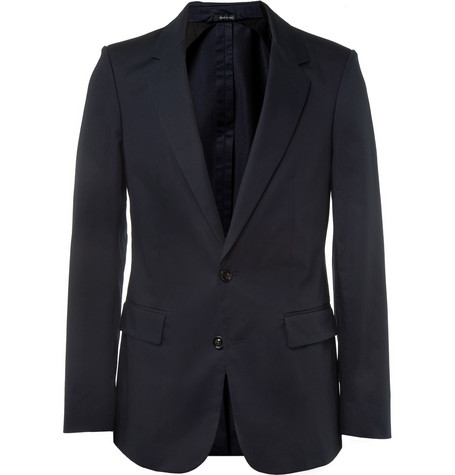 Maison Martin Margiela Slim-Fit Cotton Blazer
