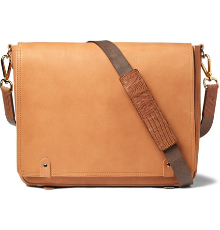 Maison Martin Margiela Replica Leather Messenger Bag