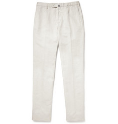 Incotex Linen and Cotton-Blend Chinos