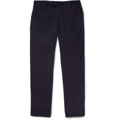 Slowear Incotex Slim-Fit Cotton Seersucker Trousers