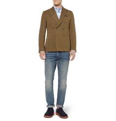 Slowear Montedoro Linen and Cotton-Blend Blazer